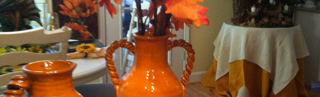 Celebrate Autumn With Colorful Decor