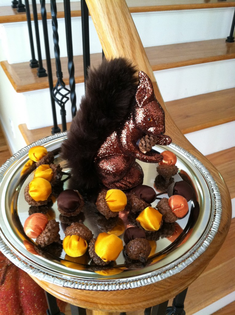Thanksgiving ideas mommy blogs decorate home for for Homemade thanksgiving decorations for the home