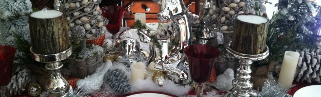 Gorgeous Christmas Table-settings