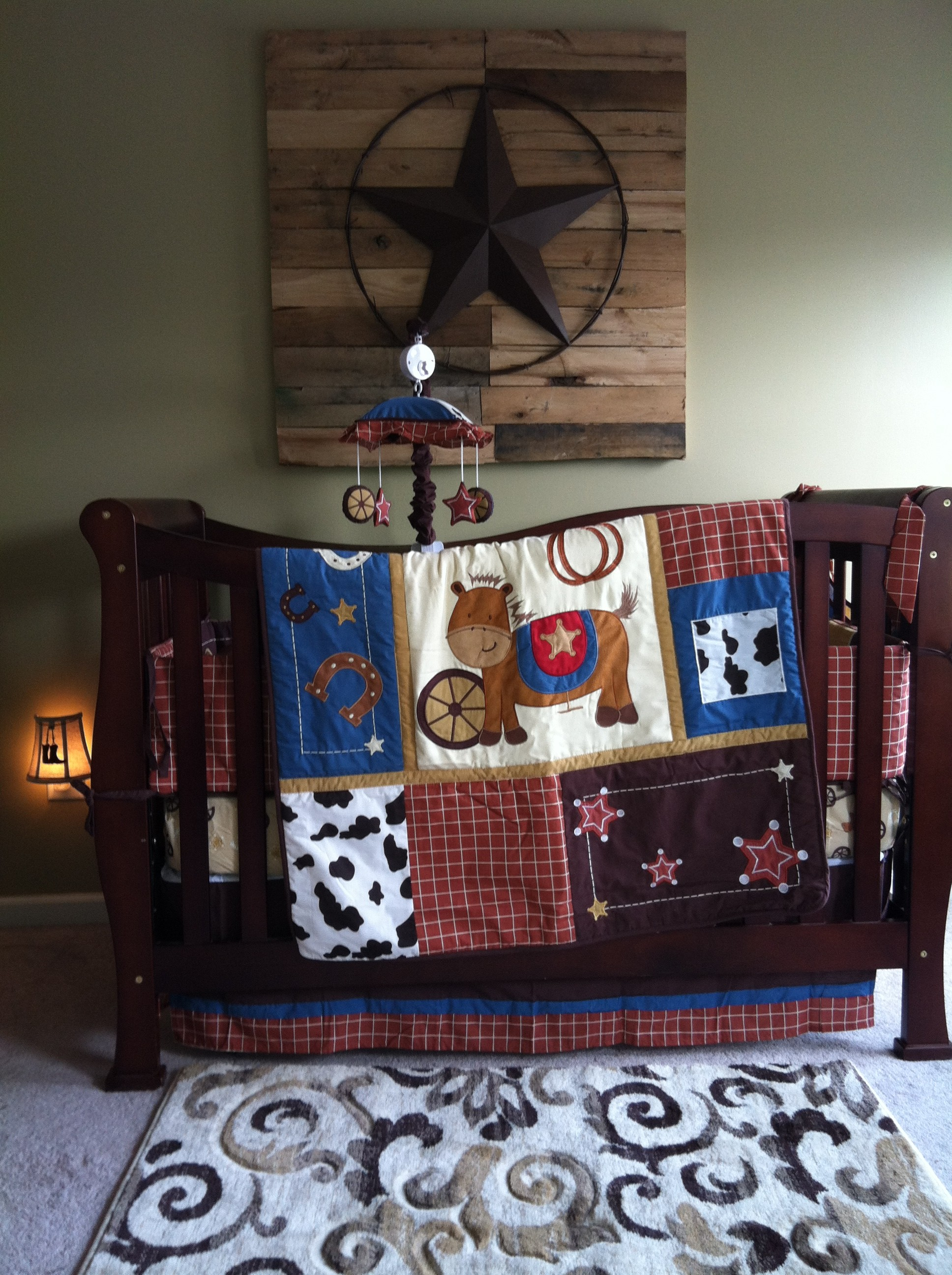 Wild West Baby Boy Nursery