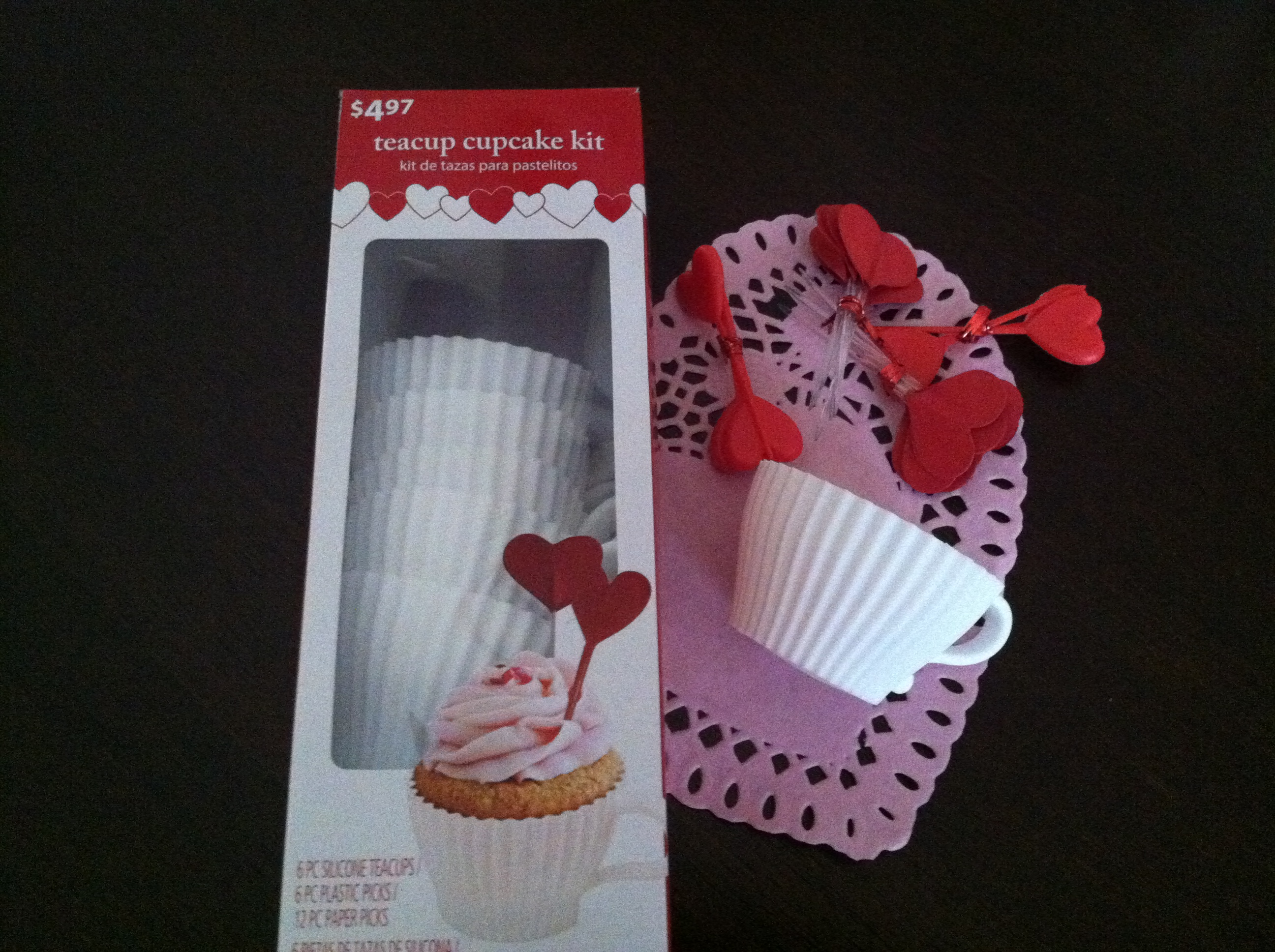 Valentines Day Tea Party cups