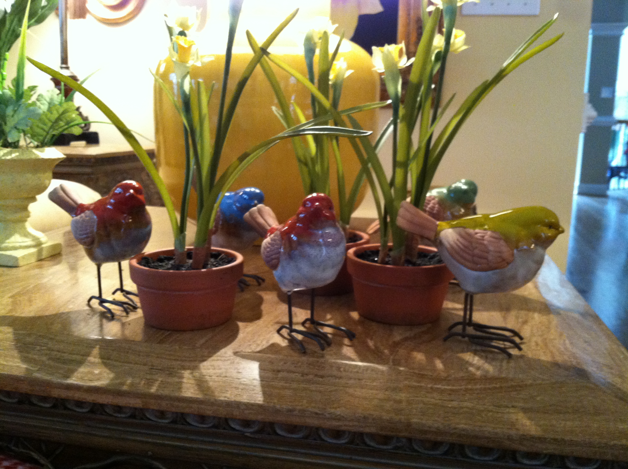 Spring Bird Decorations