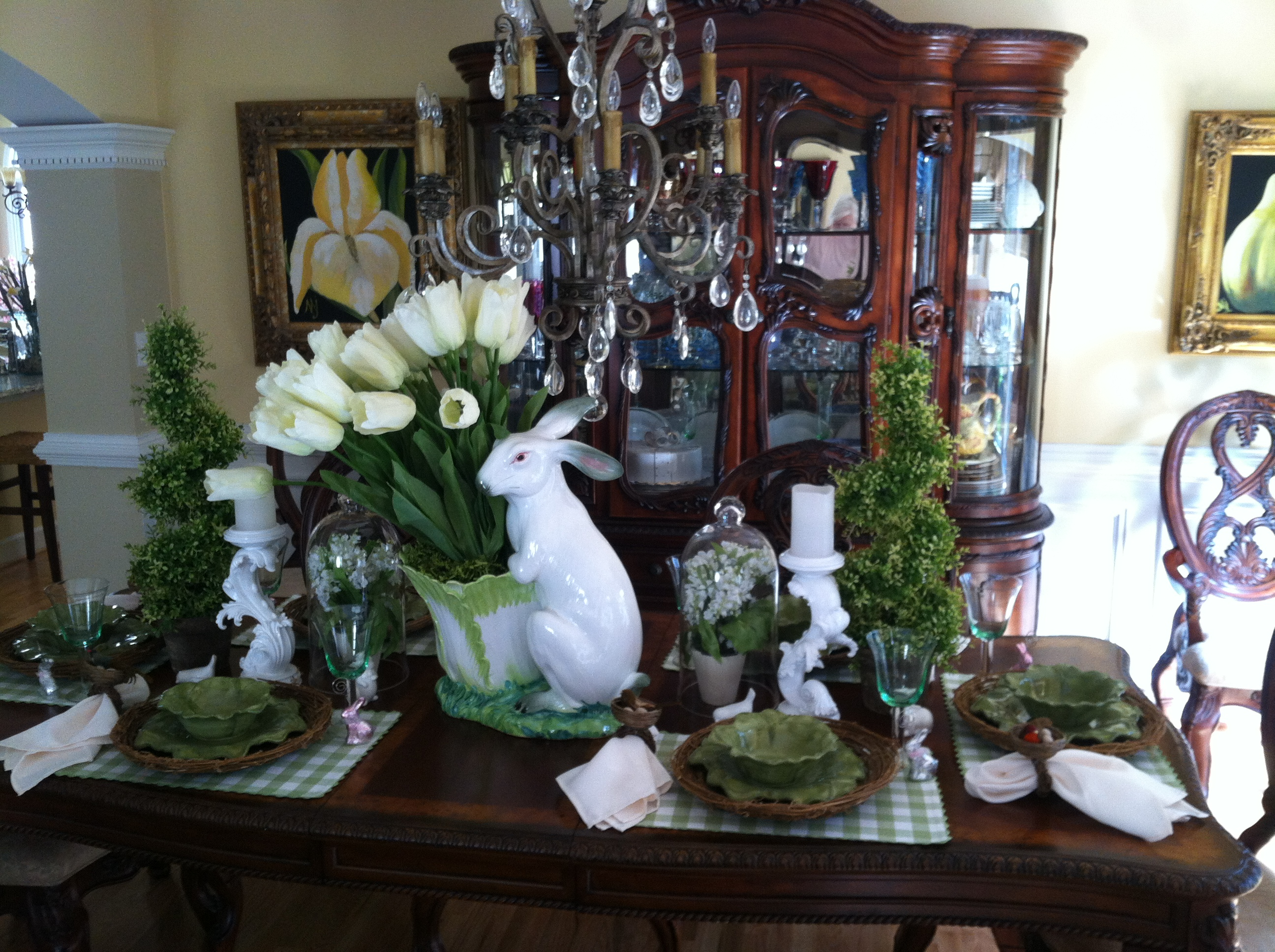 Easter & Spring Kitchen & Dining Room Decorating Ideas