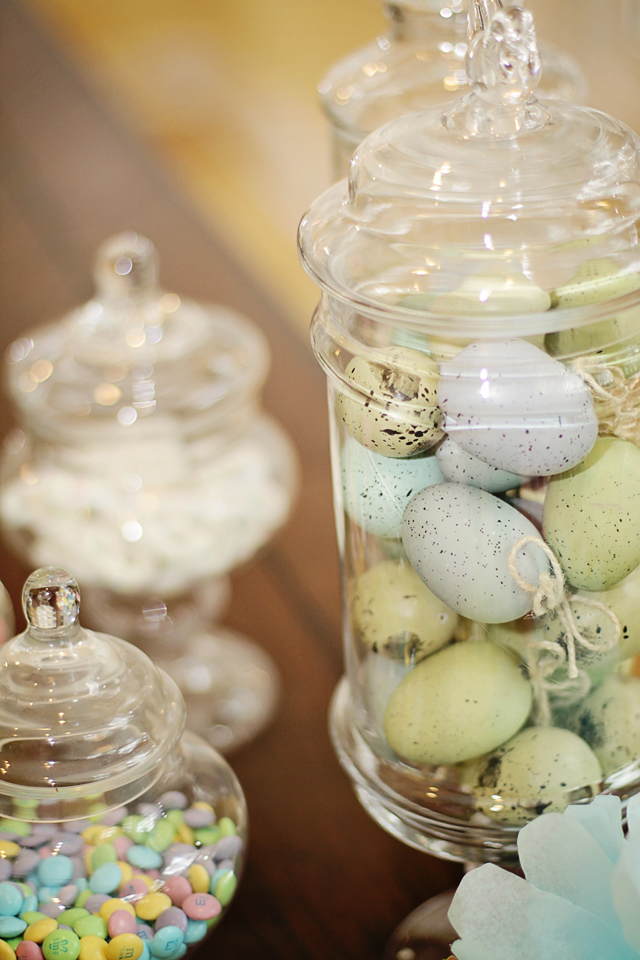 decorating with easter apothecary jars mommy blogs