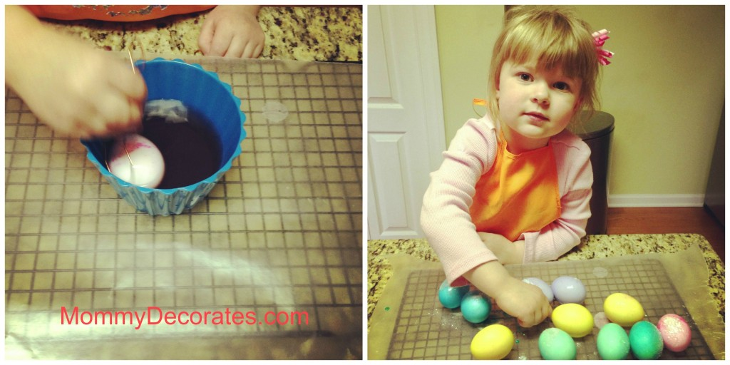 Dying Easter Eggs II