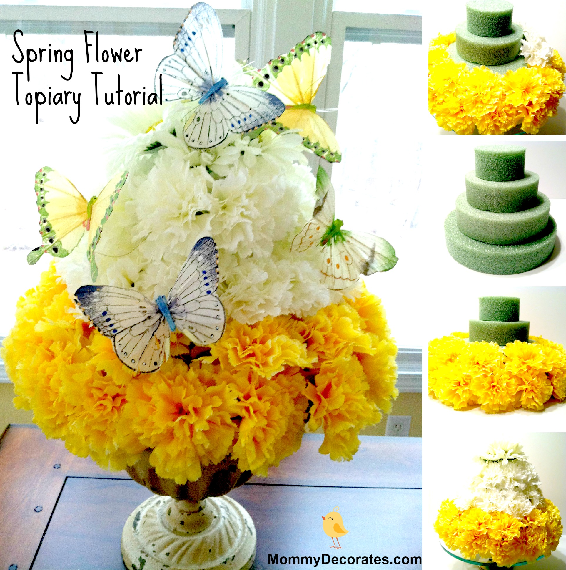How To Make A Spring Flower Cake A Quick And Easy Tutorial