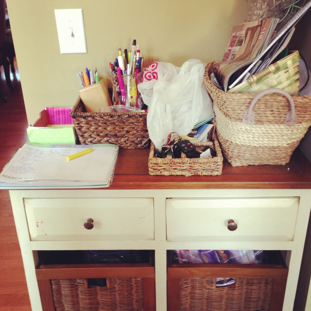 Before Pictures Of Kitchen Work Station - MommyDecorates.com