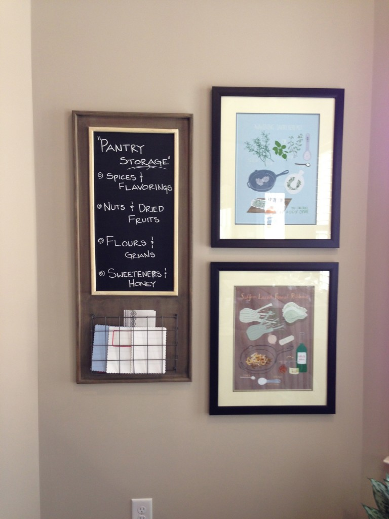 Kitchen Home Office - Work Station: MommyDecorates.com