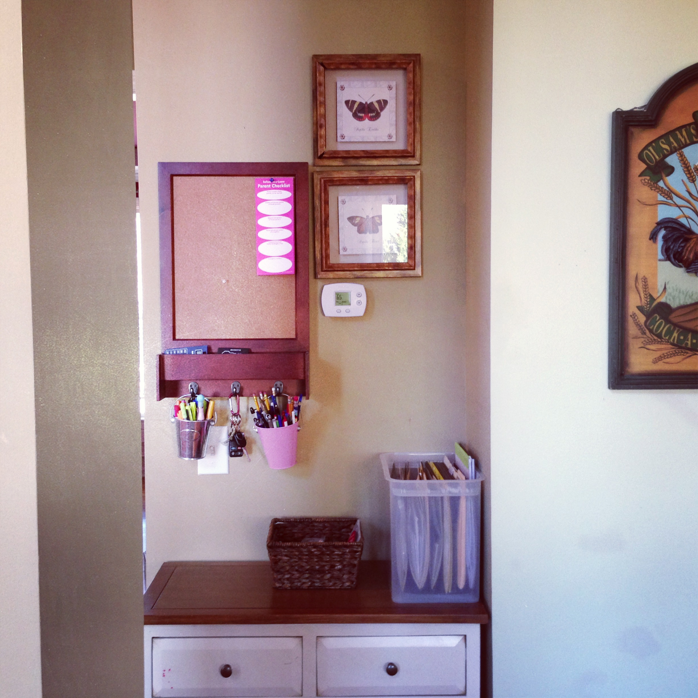 Charmant Mail Station   MommyDecorates.com
