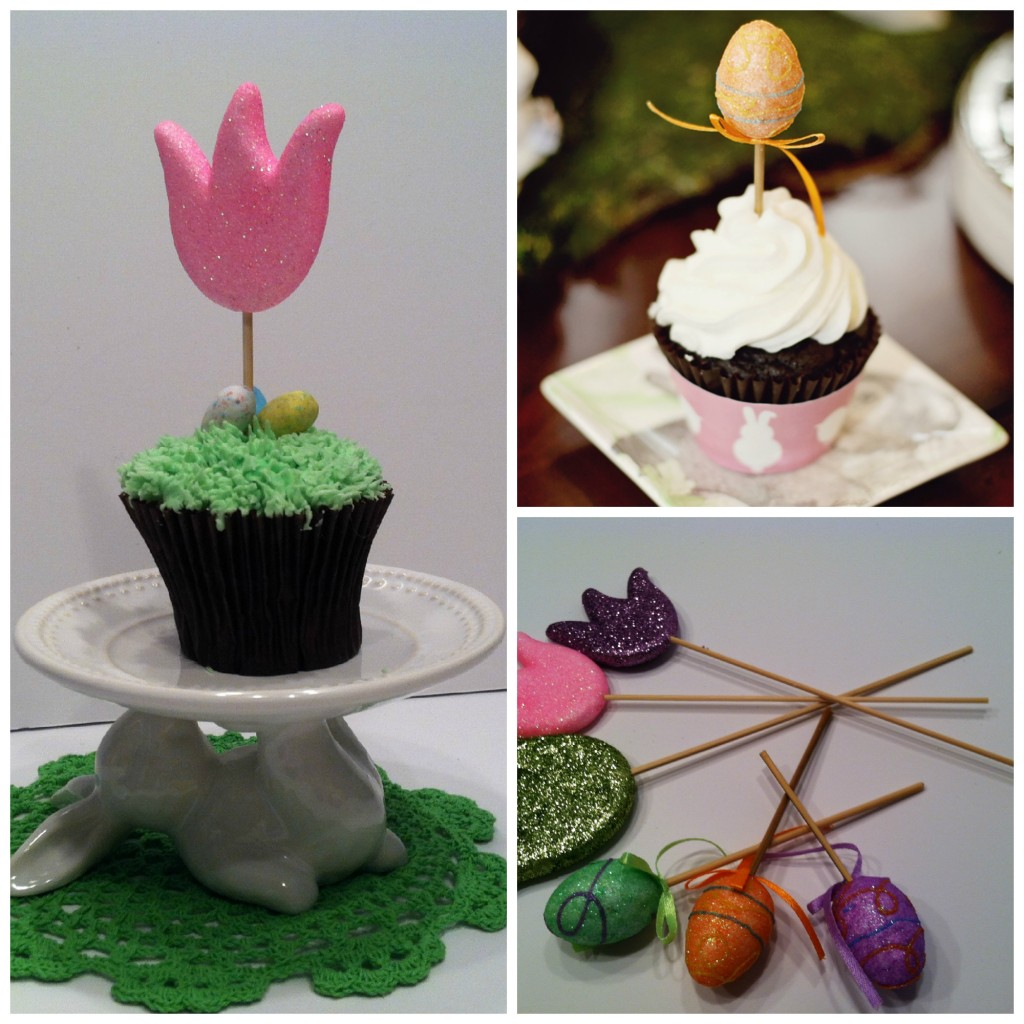 $1 Store Cupcake Toppers - MommyDecorates.com
