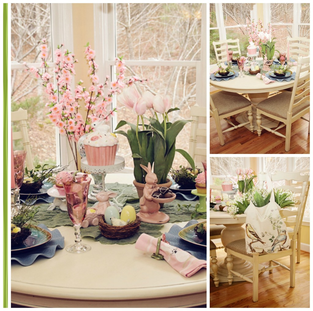 Spring Table-scape - MommyDecorates.com