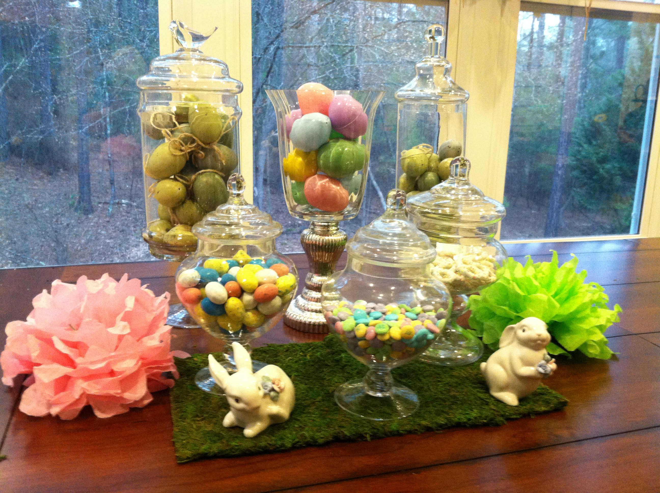 Decorating With Easter Apothecary Jars - Mommy Blogs | Decorate Home ...