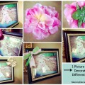 1 Picture Frame Decorated 4 Different Ways