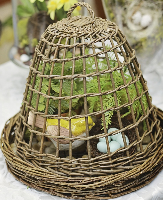 Twig Dome For Spring: MommyDecorates.com