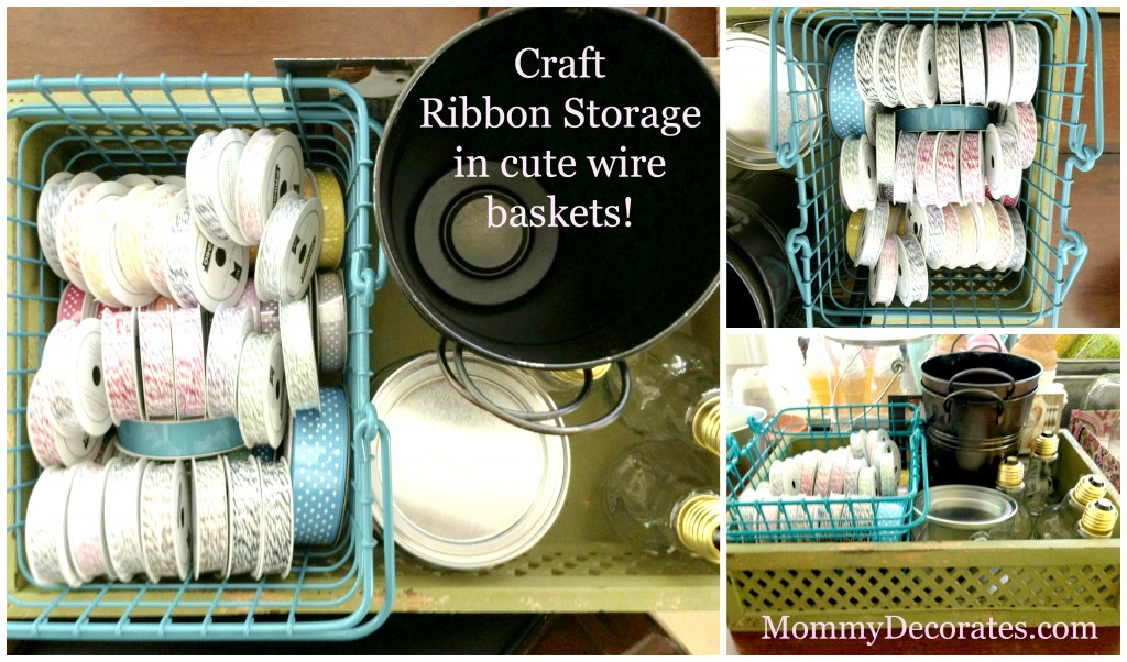 Craft Ribbon Storage