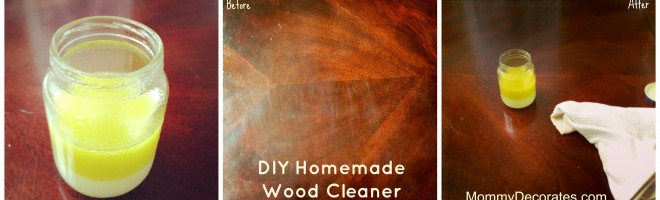 DIY Homemade Wood Cleaner Recipe Using Lemons