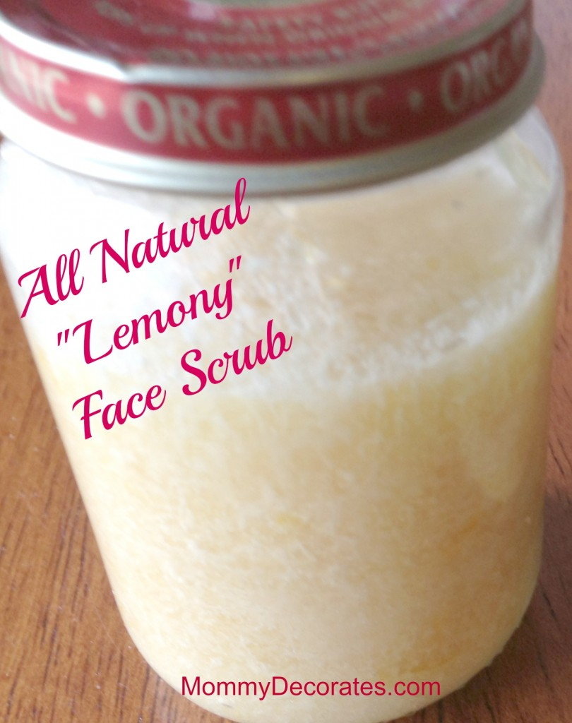 Lemony Face Scrub