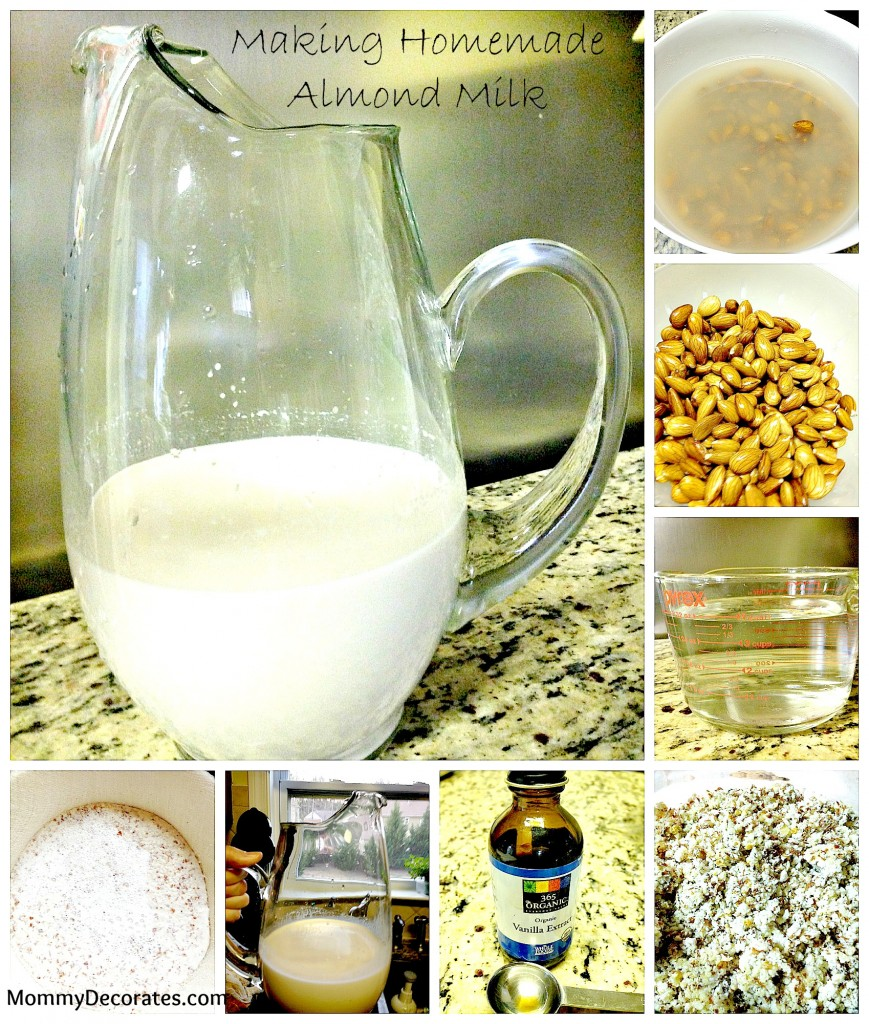Real Food Making Homemade Almond Milk