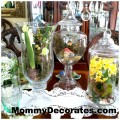 Spring Apothecary Jars And Fillers