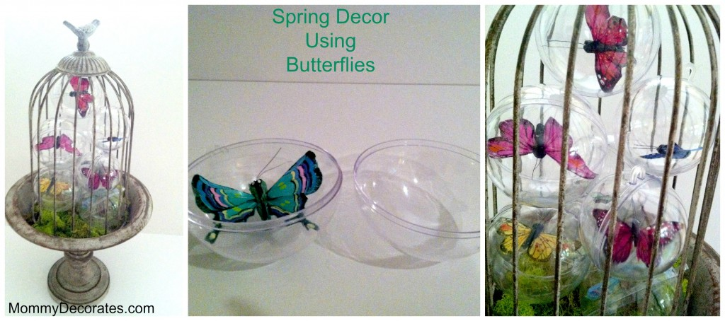 Spring Butterfly Decor