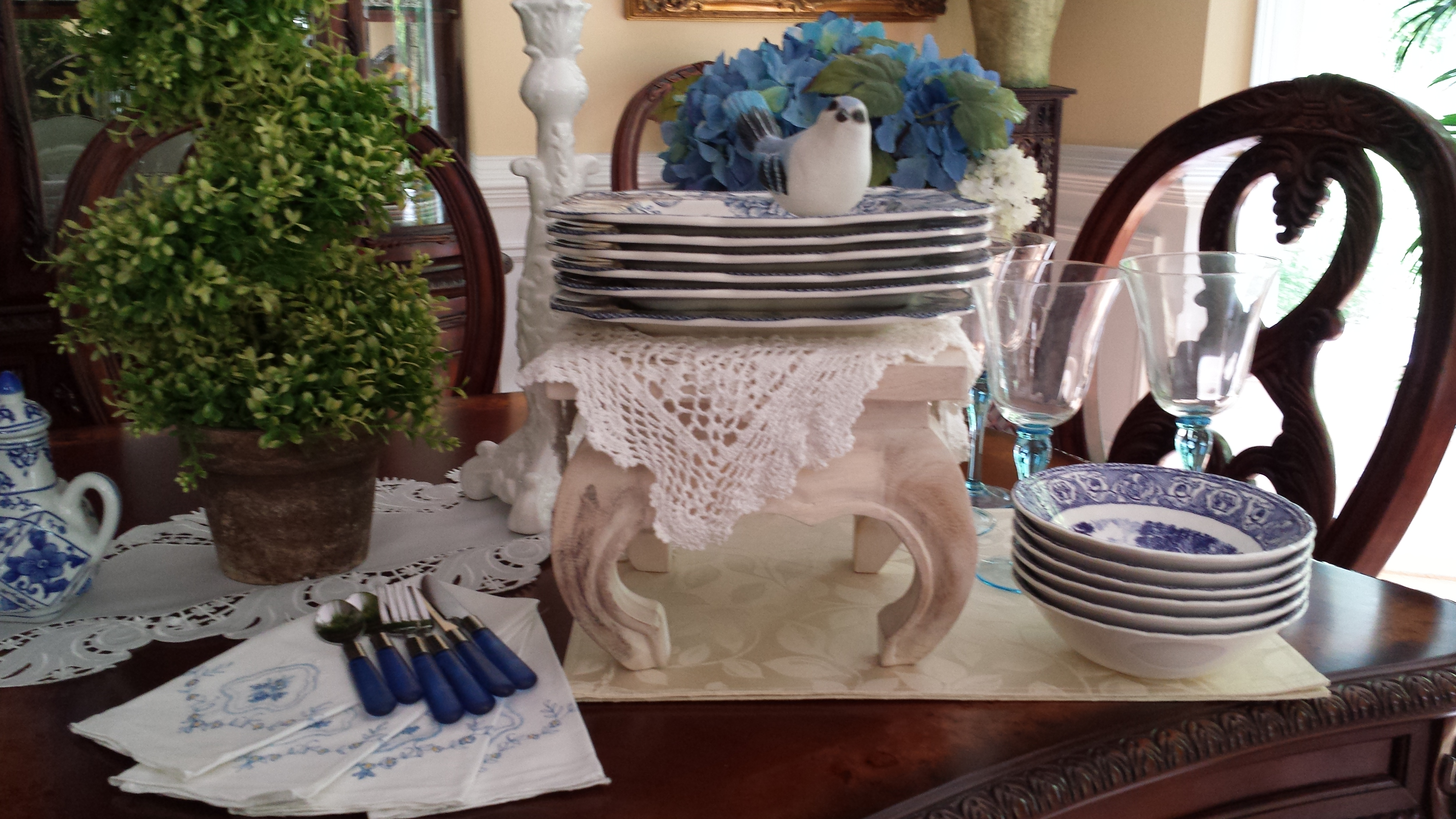 Mother S Day Brunch Buffet Style Table Setting Ideas