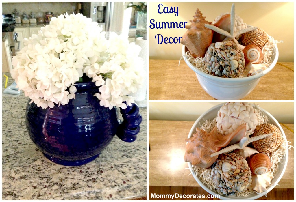 Easy Summer Decor