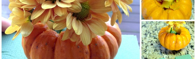 Easy Fall Party Ideas Just For Mommy's: Pumpkin Centerpiece