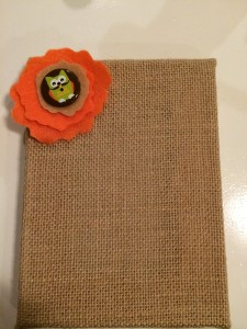 Easy Fall Burlap Picture
