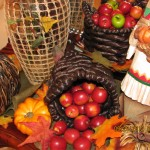 Apples Falling Over! Turn your basket sideways and allow the apples to fall over