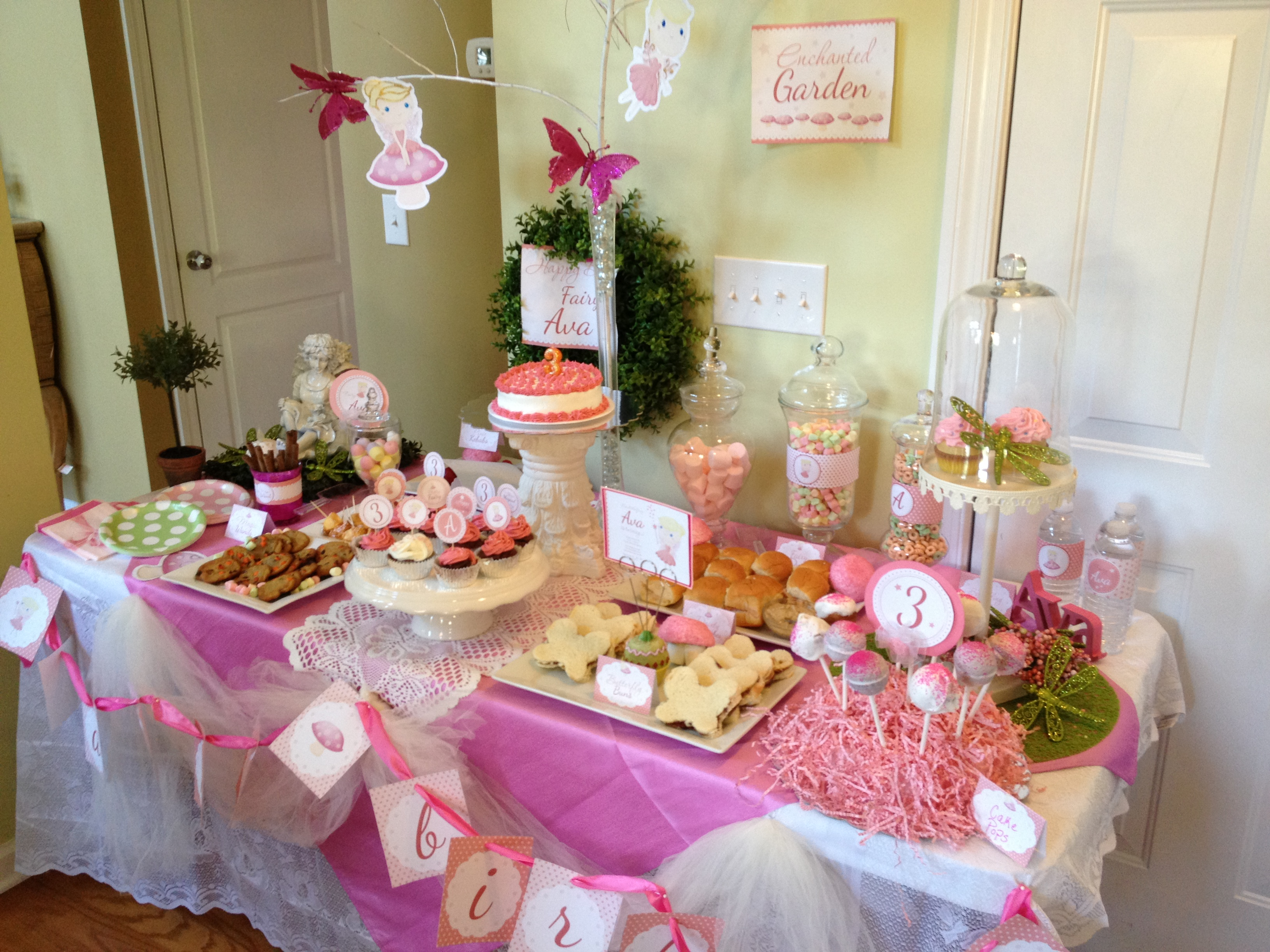 Fairy Birthday Party Part III & Recipes - Mommy Blogs ...