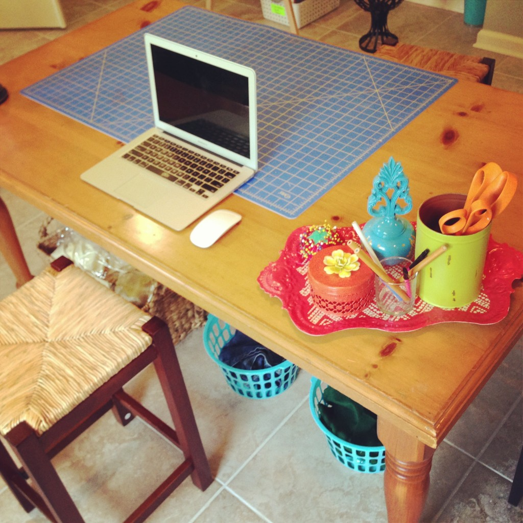 Craft Table / Cutting Table - Mommy Blogs
